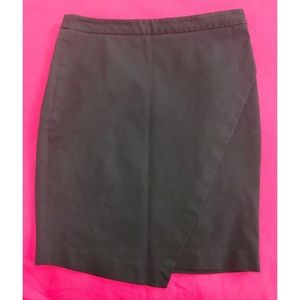 BANANA REPUBLIC Asymmetrical Stretch Pencil Skirt